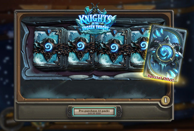 Blizzard to launch new Hearthstone Knights of the Frozen Throne - 10 августа Blizzard выпустит новое дополнение Hearthstone: Knights of the Frozen Throne