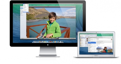 Apple показала OS X Mavericks